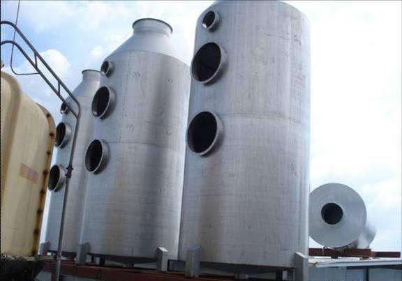 304不锈钢废气洗涤塔