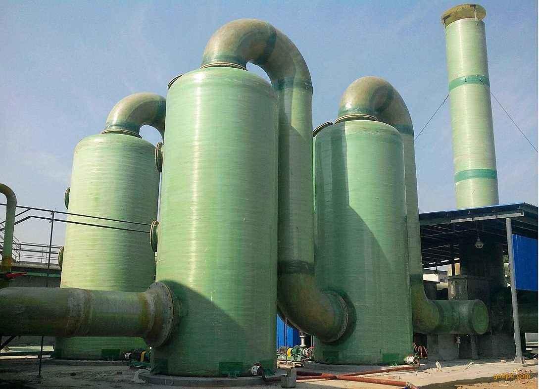 FRP玻璃钢废气洗涤塔