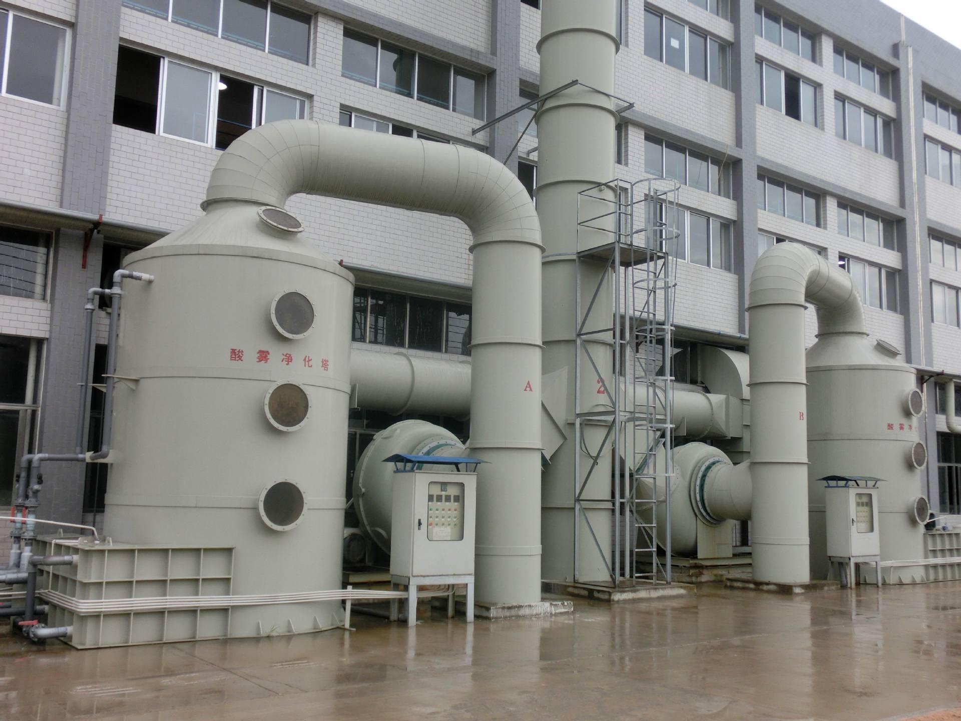 PP废气喷淋塔(洗涤塔)
