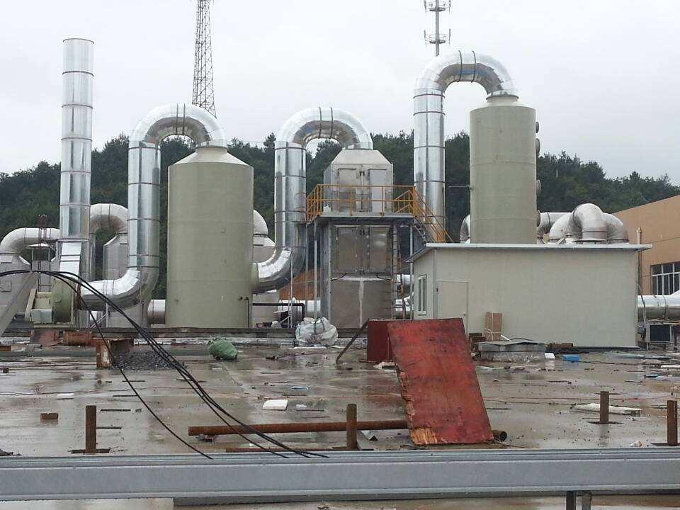 化工厂氨气处理工艺概述