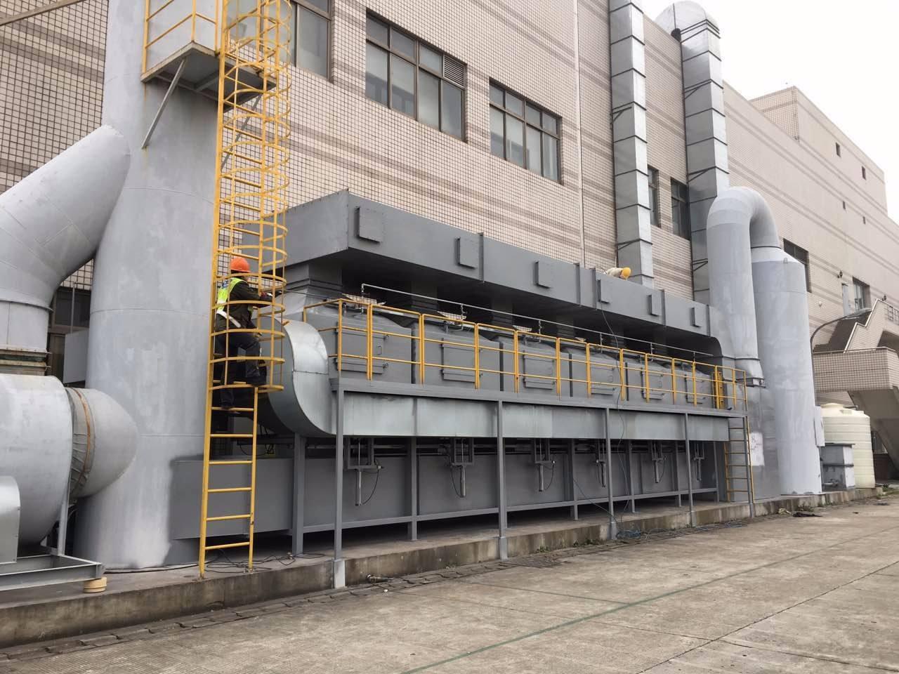 废气处理技术在涂装中的应用浅析
