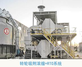 沸石转轮吸附浓缩系统